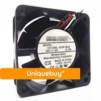 24V 0.12A 2410ML-05W-B49 Band detection alarm for NMB 6CM Inverter fan