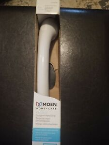 Moen LR2250DW 9-Inch Home Care Designer Hand Grip, Glacier White