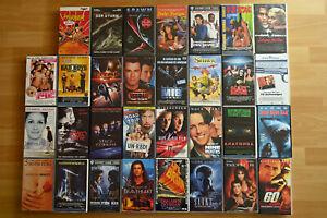 VHS Sammlung 31 Videokassetten