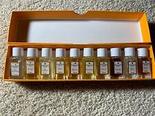 Parfum FRAGONARD Parfumeur Grasse-Paris-Eze 10 Perfume Mini 2 ml Bottles UNUSED