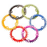 New Bike Narrow Wide Round Oval Chainring Chain Ring BCD 104mm 32T 34T 36T UK BM