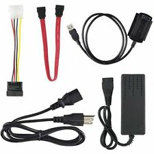 USB 2.0 to IDE PATA SATA 2.5 3.5 Hard Drive HD HDD Converter Adapter Cable - New