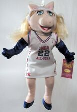 NBA MISS PIGGY 16 inch ~ The Muppets Show NBA Plush Doll (FREE SHIPPING IN US!)