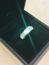 1.4 Carat Diamond Baguette Cut Half Eternity Ring Platinum Finish Size O & Half