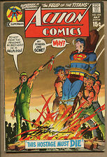 Action Comics #402 - Signed Neal Adams - 1971 (Grade 5.5) WH