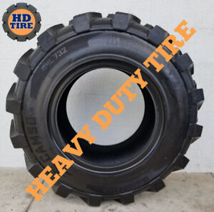12.5/80-18 CAMSO/ SOLIDEAL BHL 732 Qty (1) 12 PLY TIRE 12.5x80x18, 1258018 TYRE