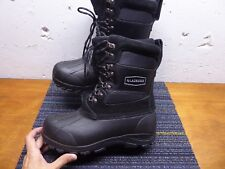 LaCrosse Men's 10 Black Suede Leather Insulated Winter Pac Boots New Never Worn!