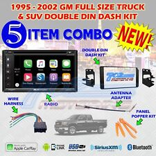 1995-2002 GM FULL SIZE TRUCK & SUV DOUBLE DIN CAR STEREO INSTALLATION DASH KIT Z