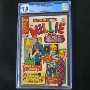 Millie the Model Annual #5 (1966) 💥 CGC 9.8 💥 HIGHEST GRADED - 1 of 2! Marvel