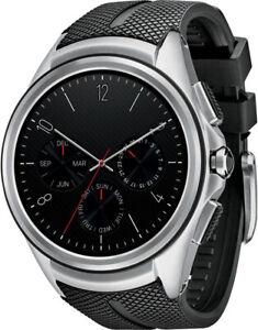 LG Urbane 2nd W200A Smart Watch 4G LTE NFC Smartwatch Black Band Edition 2 Ed