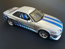 Fast and Furious 1/18 Scale Nissan Skyline
