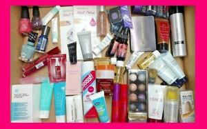 Mixed Lot Makeup Beauty Skincare Nail 10 Pc + CUTE BAG! Ipsy Birchbox Glossybox