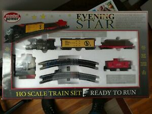 Model Power Evening Star Train Set HO set # 1027