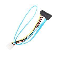 7 Pin SATA Serial Female ATA To SAS 29 Pin & 4 Pin Male Power Adapter Cable