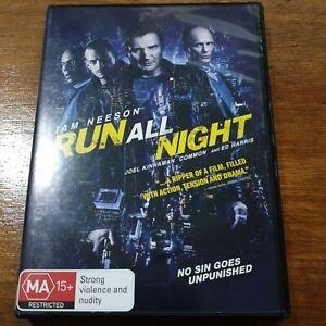 Run All Night DVD R4 VERY GOOD - FREE POST