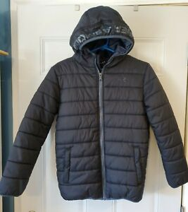 UNDER ARMOUR cold gear youth large soft shell puffer loose black coat