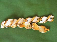 Delizioso BRACCIALE in SMALTI Firmato TRIFARI ORIG. '60 cm.18x1,3