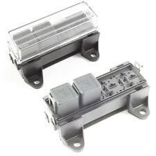 Relay Box 4 Way for Standard Relays Holder / Block 12v / 24v Car HGV 4 Pin 5 Pin