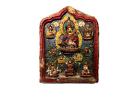 A large Tibetan buddhism padmasambhava Lotus-Born master guru tsatsa buddha
