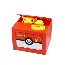 Pokemon Go Pikachu Coin Bank Moving Electronic Money Piggy Bank Box Gift US