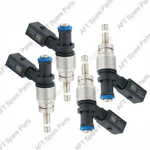AFT 4PCS Fuel Injectors 079906036D / FIJ0008 Fits Audi RS4 R8 4.2L V8 Hitachi