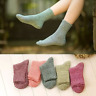 1 Pair Women Wool Cashmere Soft&Thick&Warm Solid Casual Sports Winter Socks