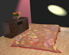 Bettüberwurf Wandbehang Tages-decke Wand-teppich Patchwork Indien Yoga Baumwolle