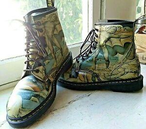 Doc. Martens Tate Museum William Blake 1460 Boots Men's US 11 UK
