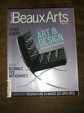 Beaux Arts Magazine N° 267 Nicolas Ghesquière Cerith Wyn Evans Picasso Design
