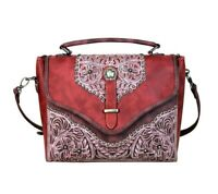 Montana West Top Handle Crossbody Bag Western Country Floral Embroidery Purse