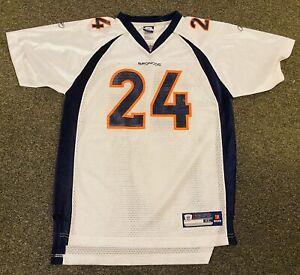 Denver Broncos NFL Football Champ Bailey #24 Jersey Youth Size XL Reebok NWOT
