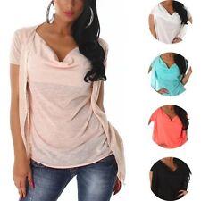 Gestreifte Normalgröße Damenblusen, - Tops & -Shirts in Größe 38