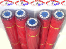 50% Fence Shade Cloth 1.83m x 50m RED SHADECLOTH w/Eyelets