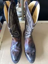 P's by Ferrini - Genuine Ostrich Skin Boots - Men's Size 10
