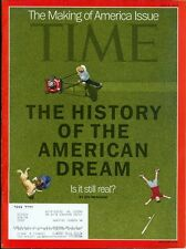 2012 Time Magazine: History of the American Dream- Is it Still Real?