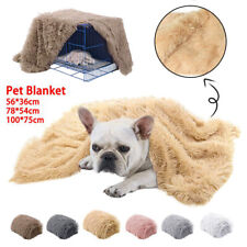 Dog Cat Puppy Blanket Pet Soft Fluffy Blanket Cosy Warm Throw Mat Extra Large