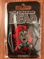 Megabox Walking Dead Punk Rock Zombie Pin Skybound Exclusive Yesterdays Rare Htf