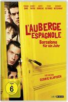 L'-BARCELONA FÜR EIN JAHR AUBERGE ESPAGNOLE -DURIS,ROMAIN/TAUTOU,AUDREY DVD NEUF