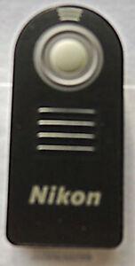 New ML-L3 Shutter Release IR Wireless Remote Control for Nikon D3000 D7100 D5000