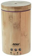 Now Foods Ultrasonic Real Wooden Bamboo Essential Oil Diffuser Air Not Burner