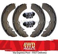 Brake Shoe & Wheel Cylinder SET - Rodeo RA Colorado RC 3.5/3.6-V6 3.0TD (03-12)