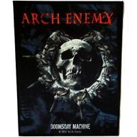 Arch Enemy Doomsday Machine Official Giant Jacket Back Patch Heavy Metal New