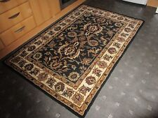 ORIENTAL HAND-MADE RUG, FROM THICK 100% PURE WOOL...6' x 4'...FREE DELIVERY.