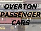 RCR - HO OVERTON 34ft PASSENGER CAR - D&RGW 1275 BAGGAGE