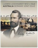 2013 STAMP PACK 'LUDWIG LEICHHARDT JOINT GERMANY ISSUE' MINI SHEET 10 x 60c MNH