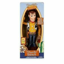 DISNEY Talking Woody Doll Toy Story 4 Interactive Action Figure 35cm **NEW* Buzz