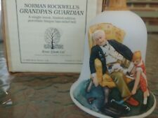 Norman Rockwell Grandpa'S Guardian Bell #0408 Of 7000