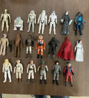LOT+OF+VINTAGE+1970s-1980s+STAR+WARS+3.75+SCALE+FIGURES+1977+R2-D2+Leia+Troopers