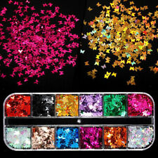 Professional Nail Sparkle Flakes Nails Art Supplies Decals Glitter Accessory