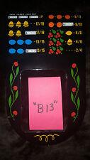 "MILLS ANTIQUE SLOT MACHINE AWARD BIB LARGE WINDOW REPRO 2/4 VAR PAYOUT ""B13"""
